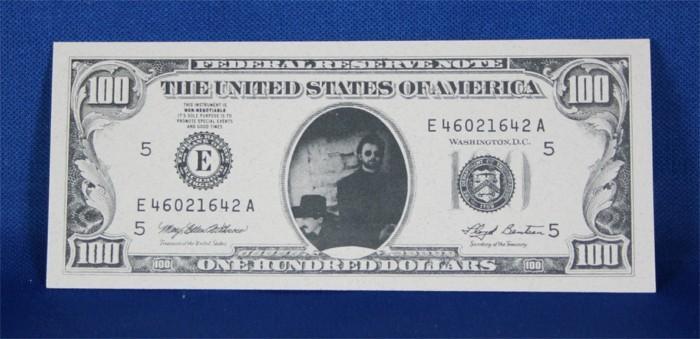 Brooks & Dunn - $100 bill