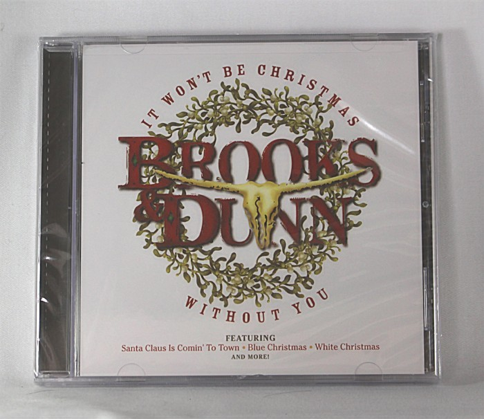 """Brooks & Dunn - CD """"It Won't Be Christmas Without You"""""""