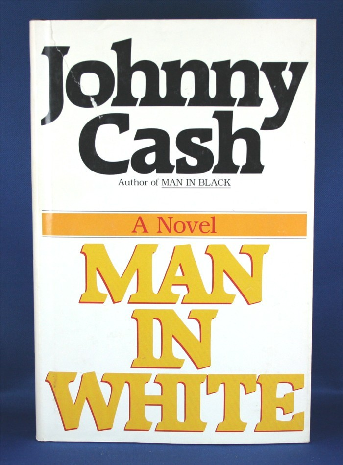 """Johnny Cash - book """"Man In White"""""""
