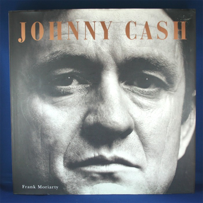 """Johnny Cash - book """"Johnny Cash"""" by Frank Moriarty"""
