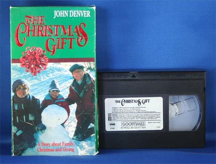"""John Denver - VHS """"The Christmas Gift"""""""