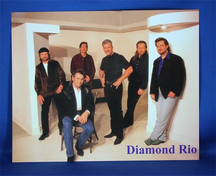 Diamond Rio - 8x10 color photograph in mod living room