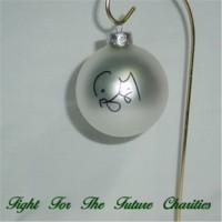 FFF Charities - Craig Morgan - silver Christmas ornament #2