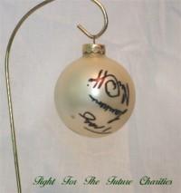 FFF Charities - Rockin' Roadhouse Tour - Mark Chesnutt, Tracy Lawrence, Joe Diffie - White Christmas Ornament #7