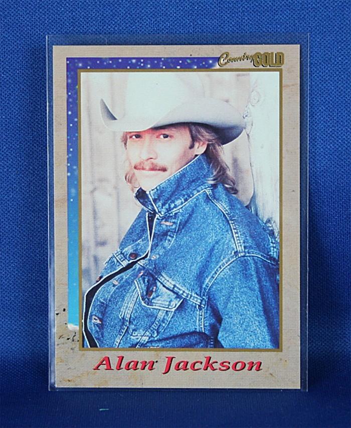 Alan Jackson - promo Country Gold trading card #1