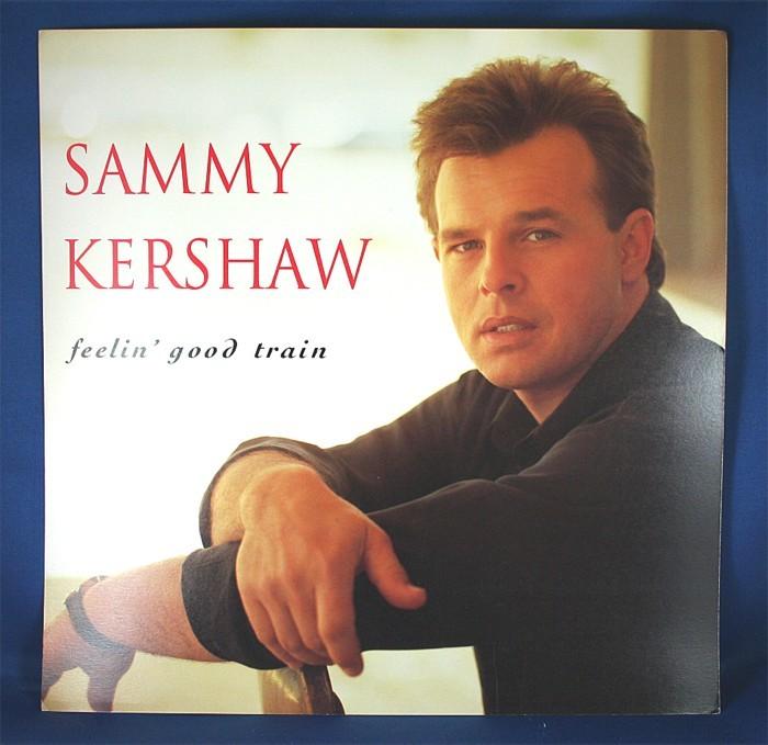 "Sammy Kershaw - promo two-sided flat ""Feelin' Good Train"""