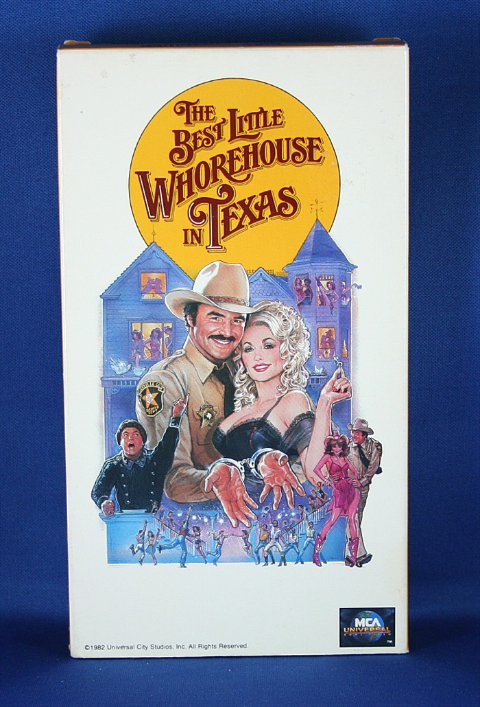 """Dolly Parton - VHS """"The Best Little Whorehouse In Texas"""""""