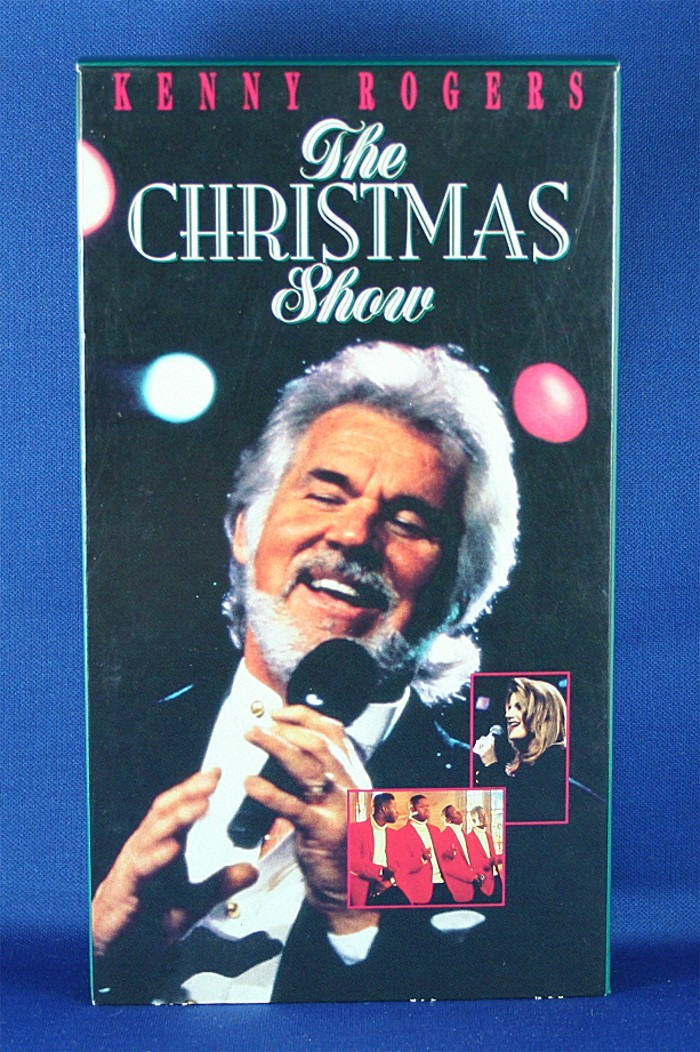 """Kenny Rogers - VHS """"The Christmas Show"""""""