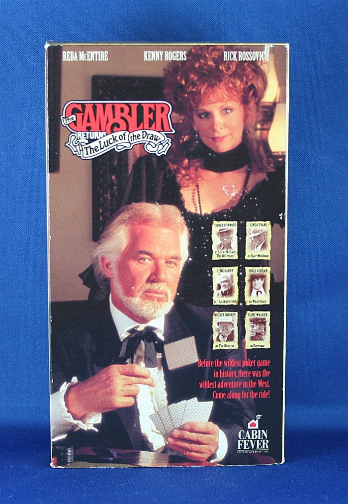 """kenny rogers  vhs """"the gambler returns  the luck of the"""