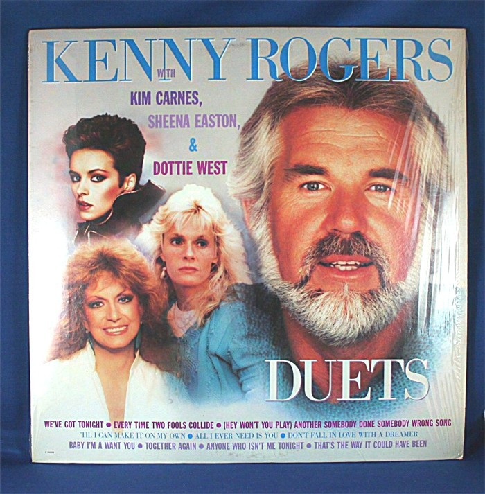"""Kenny Rogers - LP """"Duets"""""""