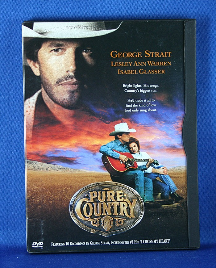 """George Strait - DVD """"Pure Country"""" PV"""