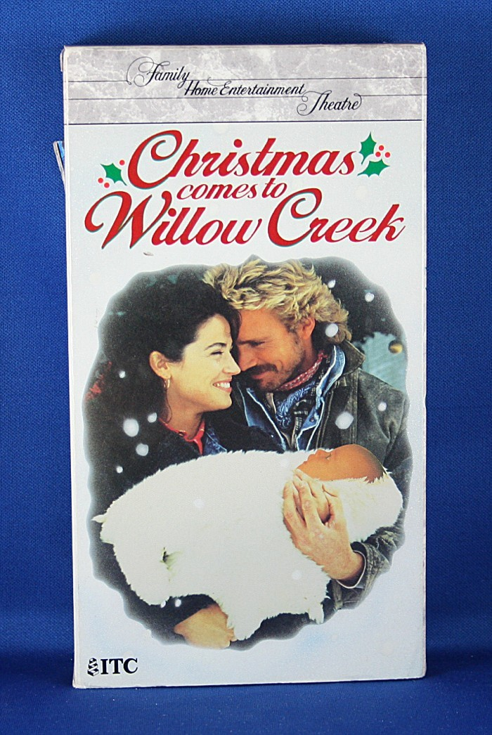 "John Schneider - VHS ""Christmas Comes To Willow Creek"""