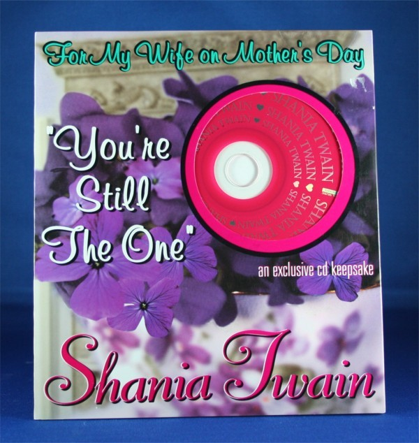 Shania Twain - Mother's Day Card w/ cd (Wife)
