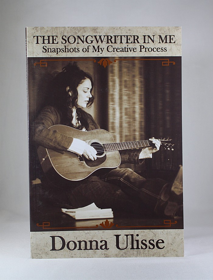 """FFF Charities - Donna Ulisse - autographed book """"The Songwriter In Me"""""""