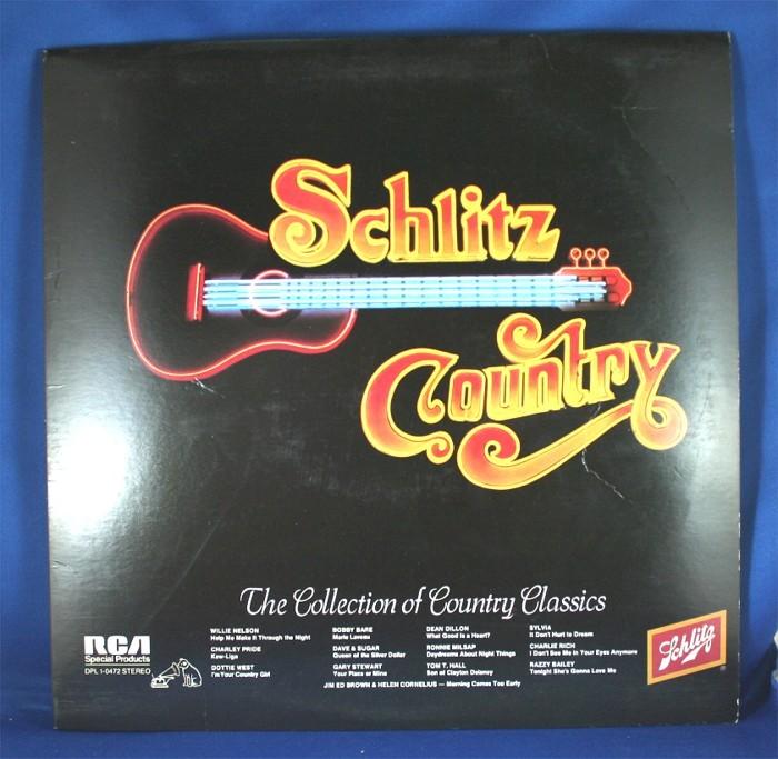 "Various Artists - LP ""Schlitz Country"""