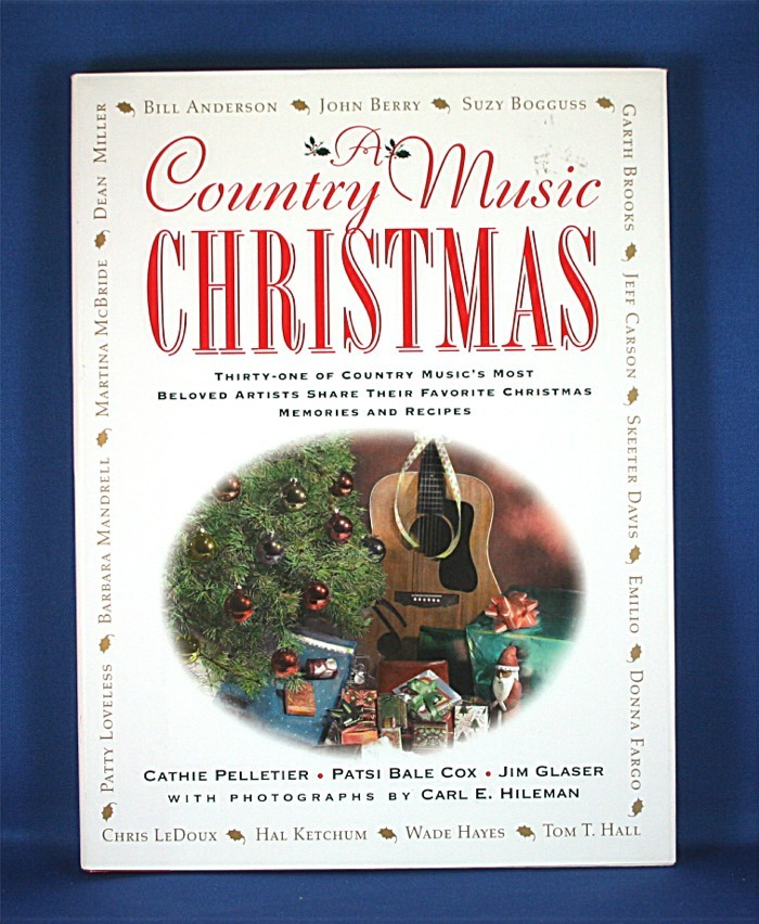 """Various Artists - book """"A Country Music Christmas"""""""