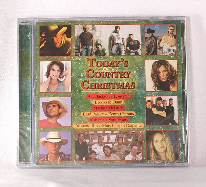"""Various Artists - CD """"Today's Country Christmas"""""""