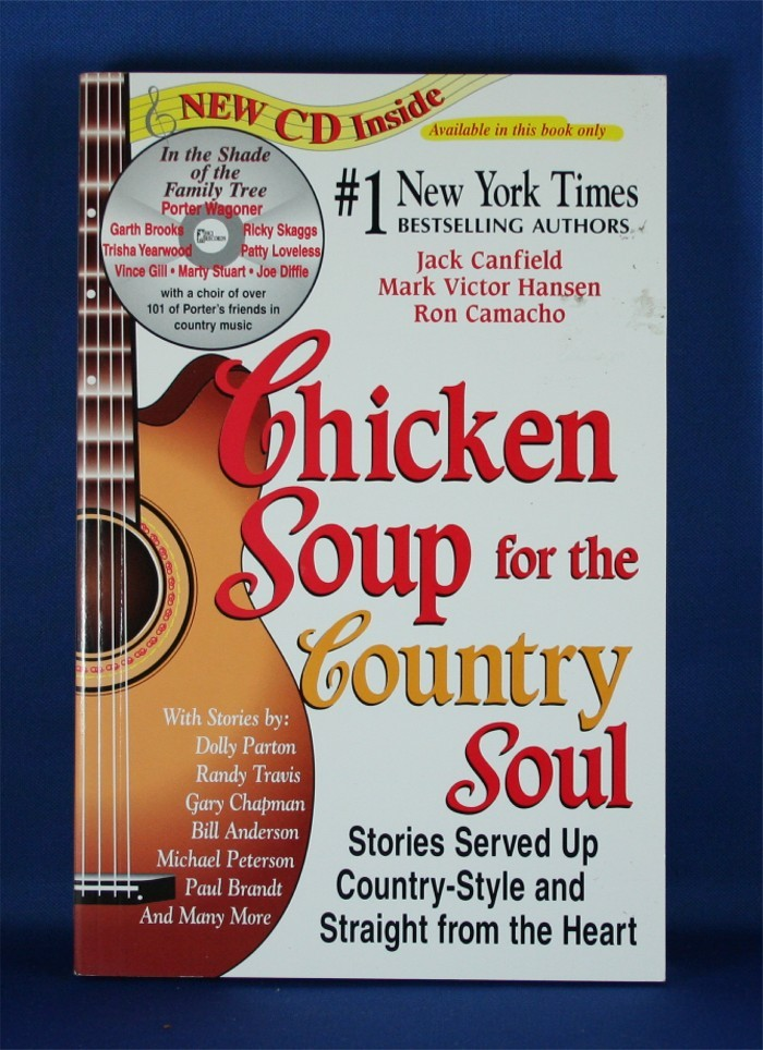 "Various Artists - book ""Chicken Soup for the Country Soul"" with CD"