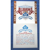 "Alabama - promo locker flat ""For The Record - 41"" 1 Hits"""