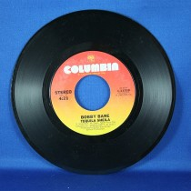 """Bobby Bare - 45 LP """"Qualudes Again"""" & """"Tequila Sheila"""""""