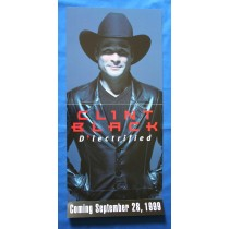"Clint Black - promo locker flat ""D-lectrified"""