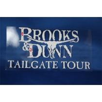 Brooks & Dunn - window cling