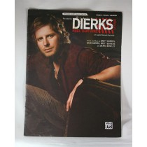 """Dierks Bentley - sheet music """"Feel That Fire"""""""