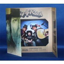 Big & Rich - 2013 ACM tri-fold promo card