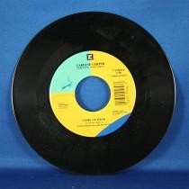 """Carlene Carter - 45 LP """"The Leavin' Side"""" & """"Come On Back"""""""