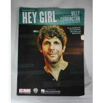"Billy Currington - sheet music ""Hey Girl"""