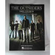 "Eric Church - sheet music ""The Outsiders"""