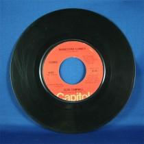 "Glen Campbell - 45 LP ""Rhinestone Cowboy"" & ""Lovelight"""