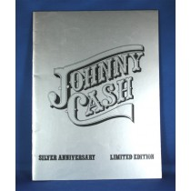 Johnny Cash - Silver Anniversary Limited Edition 1974 tour book