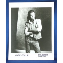 Mark Collie - 8x10 black & white photograph with arms crossed