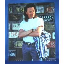 Mark Collie - 8x10 color photograph w/ license plates