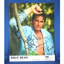 Billy Dean - 8x10 color photograph w/ jean jacket