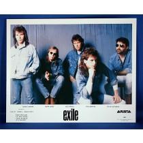 Exile - 8x10 color photograph on blue backdrop