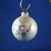 FFF Charities - David Ball - white Christmas ornament #2