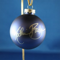 FFF Charities - Kathie Baillie - blue Christmas ornament #4