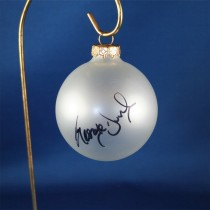 FFF Charities - George Ducas - clear frosted Christmas ornament #5