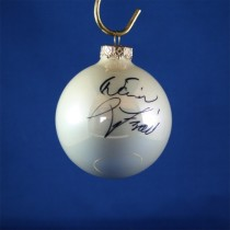 FFF Charities - David Frizzell - white Christmas ornament #4