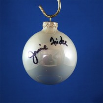 FFF Charities - Janie Frickie - white Christmas ornament #2