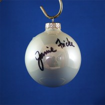 FFF Charities - Janie Frickie - white Christmas ornament #5