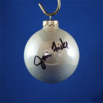 FFF Charities - Janie Frickie - white Christmas ornament #9