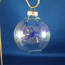 FFF Charities - Lee Greenwood - Clear Patriotic Christmas Ornament #5