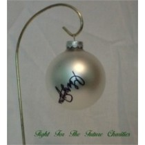 FFF Charities - George Jones - White Christmas Ornament #8