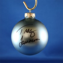 FFF Charities - Tracy Lawrence - blue Christmas ornament #1