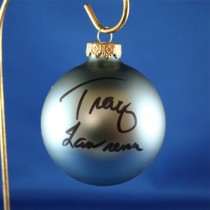 FFF Charities - Tracy Lawrence - blue Christmas ornament #11