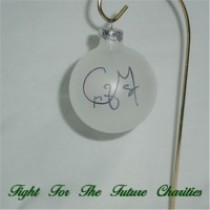 FFF Charities - Craig Morgan - clear Christmas ornament #1