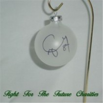 FFF Charities - Craig Morgan - clear Christmas ornament #2
